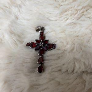 Beautiful cross necklace pendant